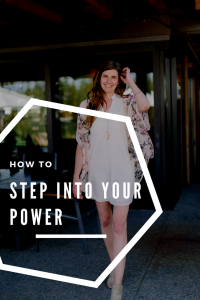 step into your power in your online coaching business