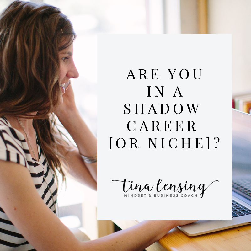 Are You In A Shadow Career [Or Niche]?