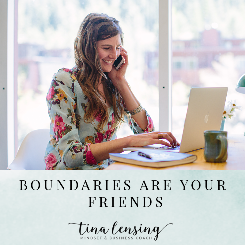 Boundaries Are Your Friend