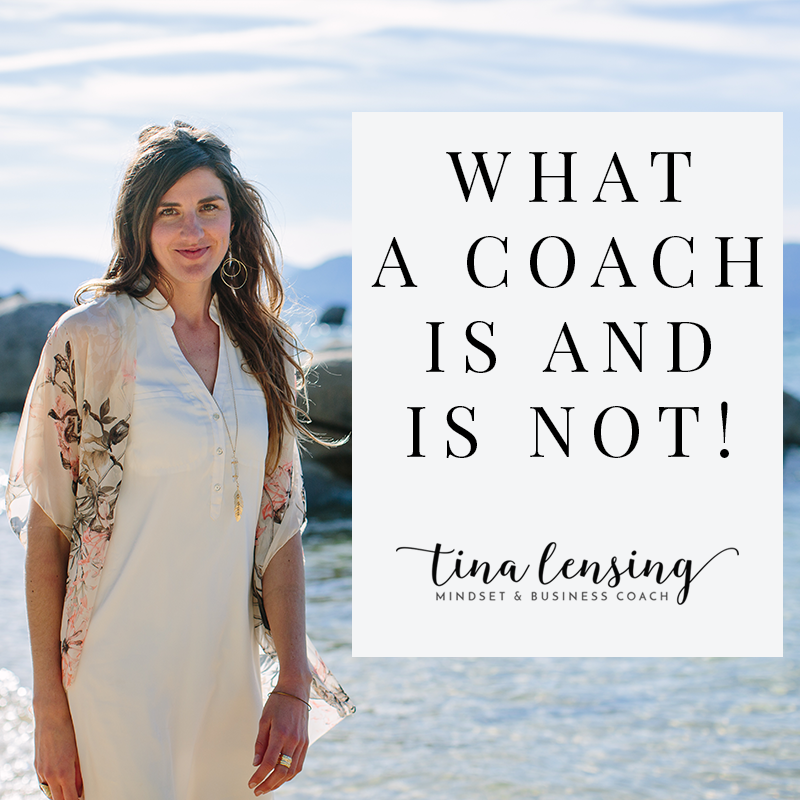 What Is A Coach and What Is Not!