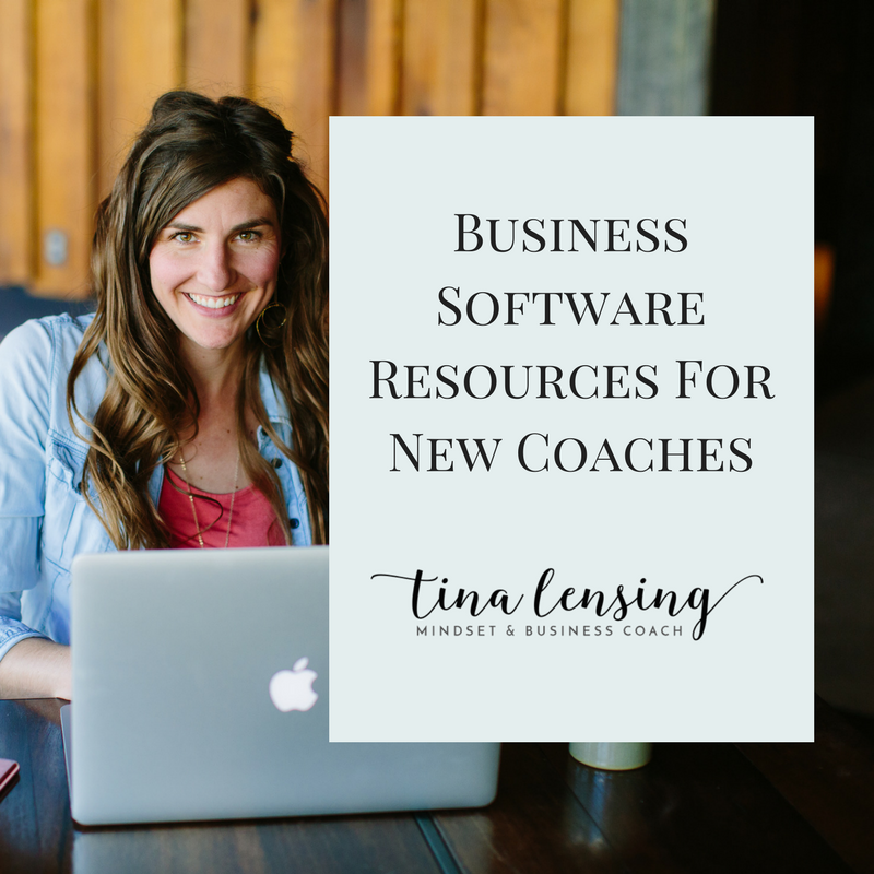 Business Software Resources For New Coaches