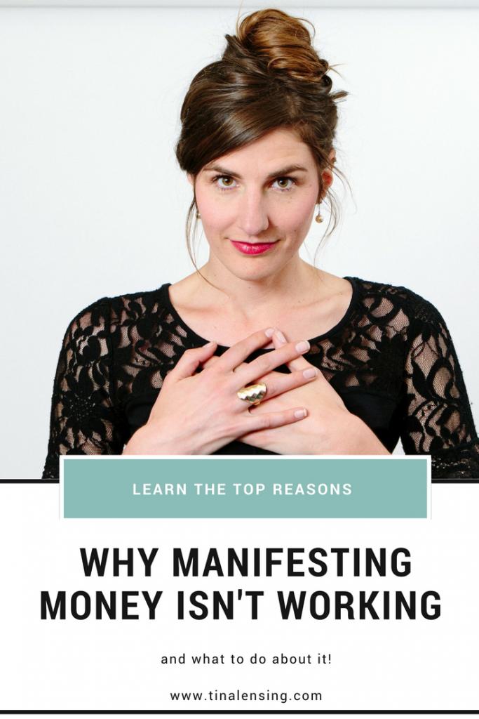 manifesting money tina lensing coaching